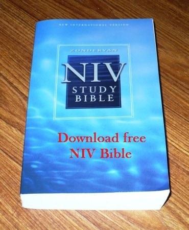 free download niv bible