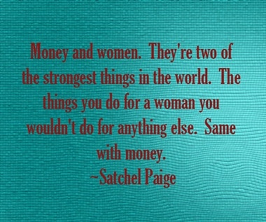 money and women