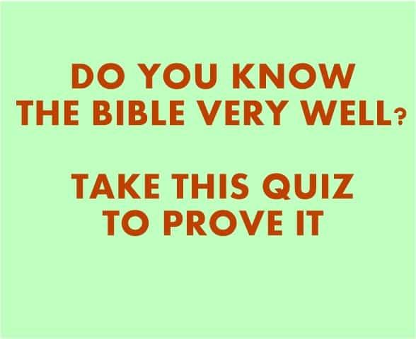 are you religious quiz