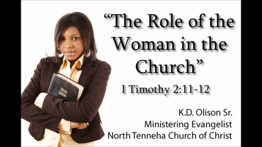 the role of women in the church 2 essay