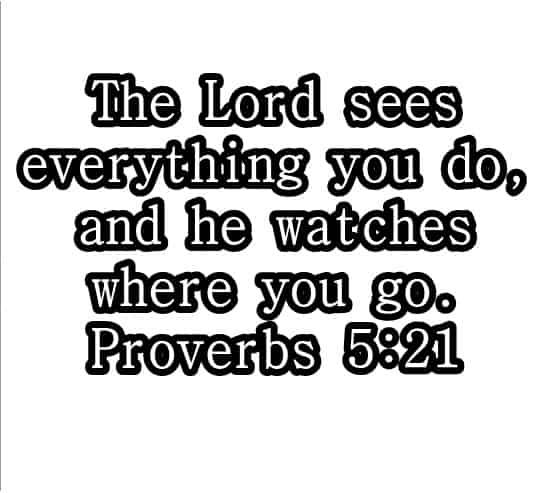 BIBLE VERSES FROM PROVERBS 5: QUOTES IN PICTURES
