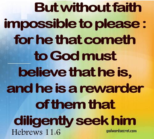 15 BIBLE VERSES ABOUT FAITH: INSPIRING FAITH BIBLE VERSES