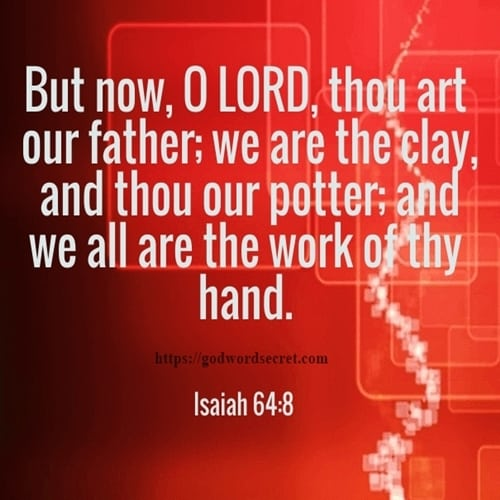 But now O LORD thou art our father